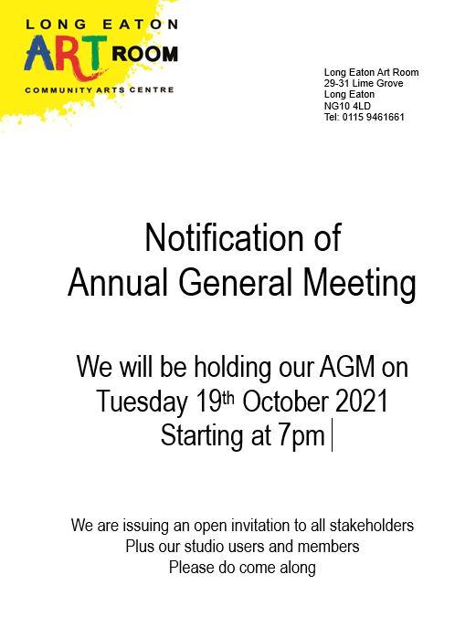 AGM Invitation 19.10.21